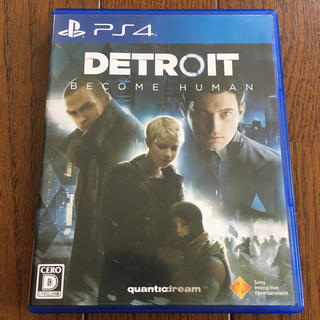 プレイステーション4(PlayStation4)のDETROIT ps4 ソフト (家庭用ゲームソフト)