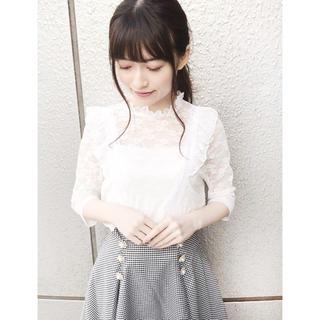 ロジータ(ROJITA)のロジータ  レーストップス(カットソー(半袖/袖なし))