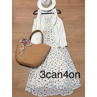 サンカンシオン(3can4on)の☆3can4on☆レースノースリーブブラウス(シャツ/ブラウス(半袖/袖なし))