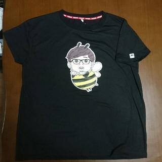 シマムラ(しまむら)のHIKAKIN ヒカキン コラボ Tシャツ レディースLL ハチ(Tシャツ(半袖/袖なし))