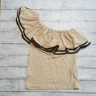 デュラスアンビエント(DURAS ambient)のワンショル Fsize(Tシャツ(半袖/袖なし))