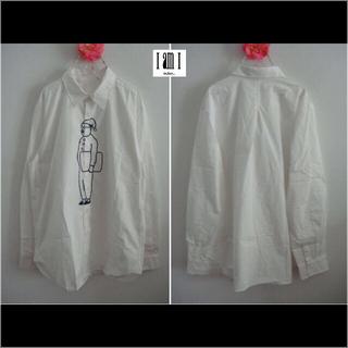アイアムアイ(I am I)のIamIパジャマおじさんプリントシャツ(シャツ/ブラウス(長袖/七分))