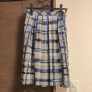 リフレクト(ReFLEcT)のリフレクトスカート ブルー系(ひざ丈スカート)