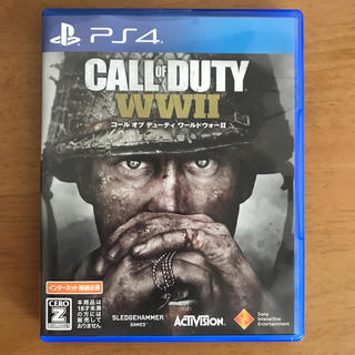 プレイステーション4(PlayStation4)のWW2 cod(家庭用ゲームソフト)