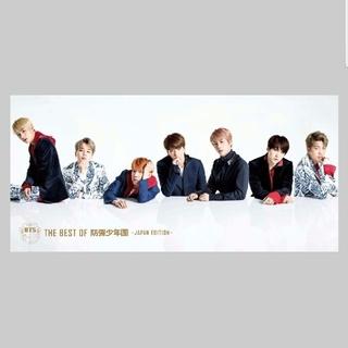 ボウダンショウネンダン(防弾少年団(BTS))の未使用 THE BEST OF 防弾少年団 BTS DVD JAPAN初回限定(K-POP/アジア)