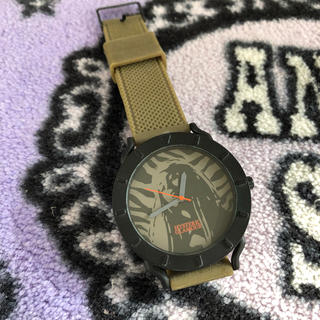ヒステリックグラマー(HYSTERIC GLAMOUR)の美品ヒステリックグラマー時計(ラバーベルト)