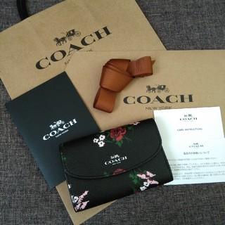 コーチ(COACH)の希少 COACH キーケース ブラック(キーケース)