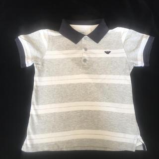 アルマーニ ジュニア(ARMANI JUNIOR)の8A 130cm Armani Juniorポロシャツ(Tシャツ/カットソー)