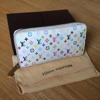 ルイヴィトン(LOUIS VUITTON)の良品 確実正規品 マルチカラー ジッピーウォレット(財布)