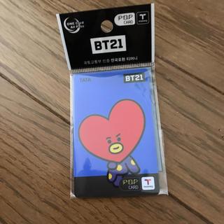 ボウダンショウネンダン(防弾少年団(BTS))のBT21 T-money カード BT21 × 7-ELEVEN 限定商品 (アイドルグッズ)