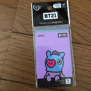 ボウダンショウネンダン(防弾少年団(BTS))のBT21 T-money カード BT21 × 7-ELEVEN 限定商品(アイドルグッズ)