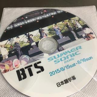 ボウダンショウネンダン(防弾少年団(BTS))の防弾少年団 サマソニ2015 DVD(K-POP/アジア)