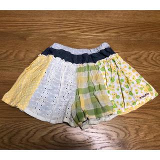 ユッピー(Youpi!)のYoupi パッチワーク キュロットスカート 90(スカート)
