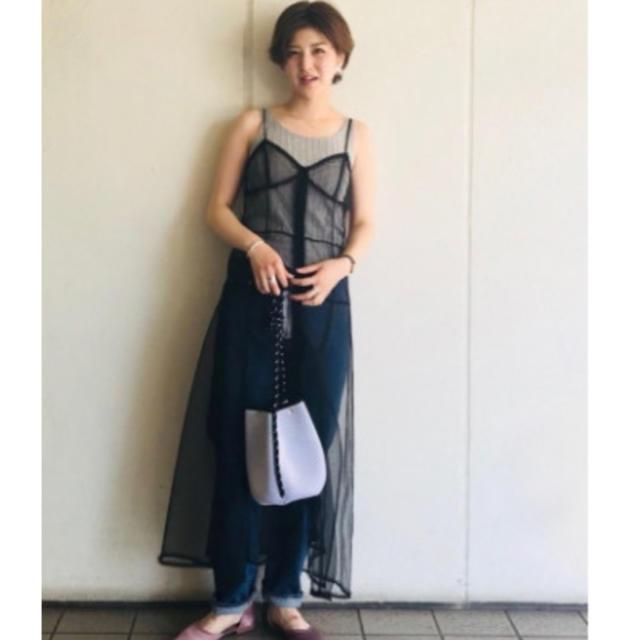 TODAYFUL(トゥデイフル)のトゥデイフル2018ssキャミワンピース キッズ/ベビー/マタニティのキッズ服 女の子用(90cm~)(ワンピース)の商品写真