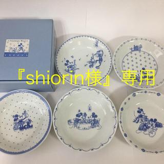 ディズニー(Disney)のディズニー  スープパスタセット皿〜Nostalgic Blue〜(食器)