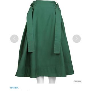 RANDA スカート