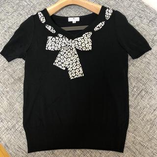 クレージュ(Courreges)の超美品⭐️クレージュ 半袖ニット♬ サイズ 9⭐️週末限定お値下げ⭐️(ニット/セーター)