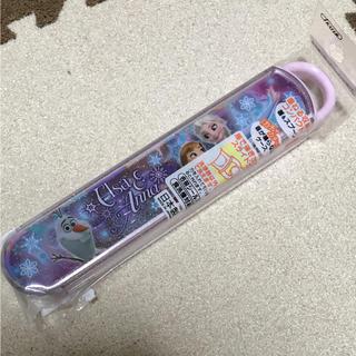 ディズニー(Disney)のディズニー アナ雪 お箸&スプーンセット(弁当用品)