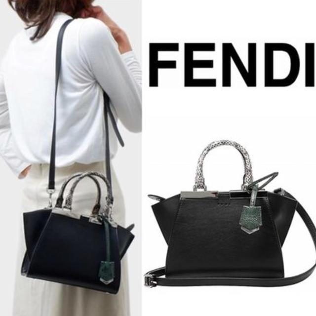 8a4a8950102f FENDI(フェンディ)の☆SALE フェンディFENDI 3JOURS MINIトロワジュール レディースのバッグ