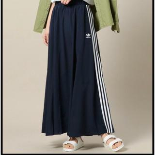 アディダス(adidas)のラスト1点♡L♡adidas BEAUTY&YOUTH コラボ ロングスカート(ロングスカート)