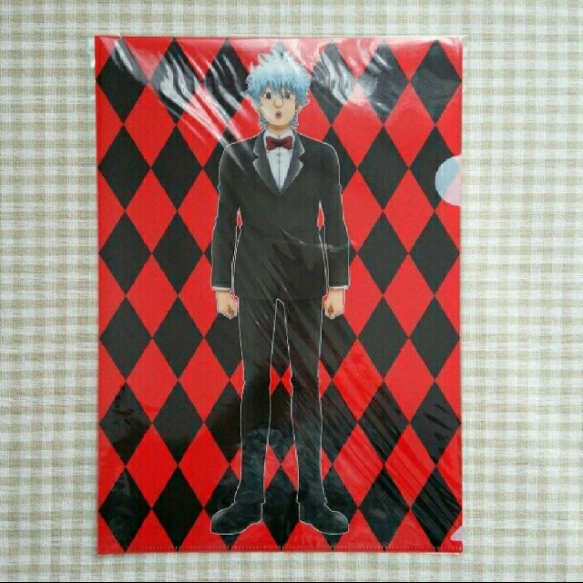 銀魂 クリアファイル エンタメ/ホビーのアニメグッズ(クリアファイル)の商品写真