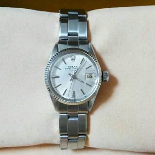 美品 OH済 ロレックス オイスター パーペチュアル レディース 腕時計