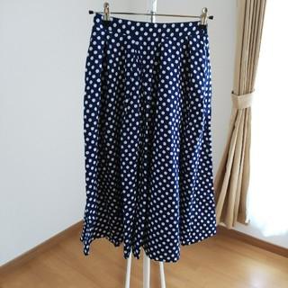 レトロガール(RETRO GIRL)のレトロドットスカート(ひざ丈スカート)