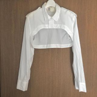 リミフゥ(LIMI feu)のLIMIfeu リミフゥ  ショートシャツ(シャツ/ブラウス(長袖/七分))