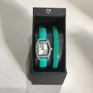 アンクラーク(ANNE CLARK)のバレッタ ウォッチアンドバングル(腕時計)