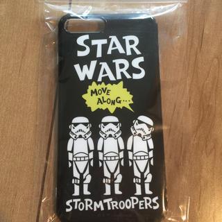 ディズニー(Disney)のスター・ウォーズ ストームトルーパー iPhone6plus 携帯 スマホカバー(iPhoneケース)