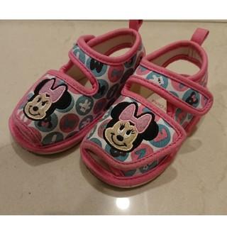 ディズニー(Disney)のミニー サンダル 14センチ 女の子(サンダル)