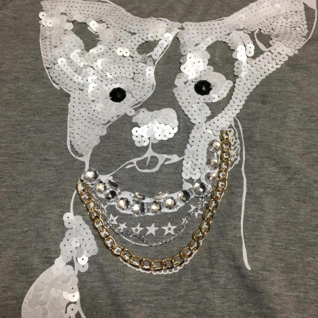 FUNKY FRUIT(ファンキーフルーツ)のブルドッグ tシャツ  レディースのトップス(Tシャツ(半袖/袖なし))の商品写真