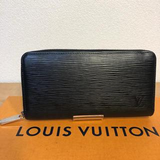 ルイヴィトン(LOUIS VUITTON)の正規品 ルイ ヴィトン ジッピーウォレット エピ ブラック 黒(財布)