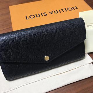 ルイヴィトン(LOUIS VUITTON)の【美品】LOUIS VUITTON ポルトフォイユ サラ(財布)