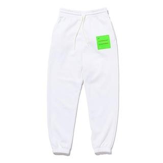 SEVEN パンツ 白 M Square Bar Sweat Pants(その他)