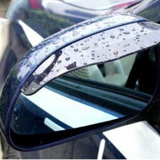 期間限定価格!ミラー バイザー 視界確保 雨除け 色【ブラック】 事故 防止