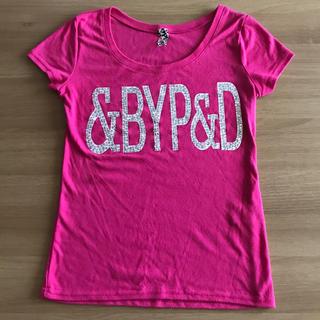ピンキーアンドダイアン(Pinky&Dianne)のPinky&dianne ラインストーンTシャツ(Tシャツ(半袖/袖なし))