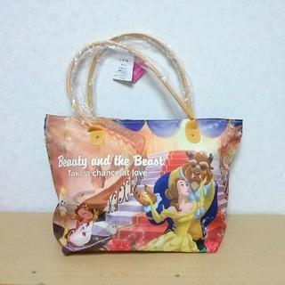 ディズニー(Disney)の新品▼容量大のチャック付きバッグ!ディズニープリンセス 美女と野獣 ベル(トートバッグ)