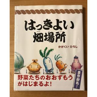 絵本 はっきよい畑場所(絵本/児童書)