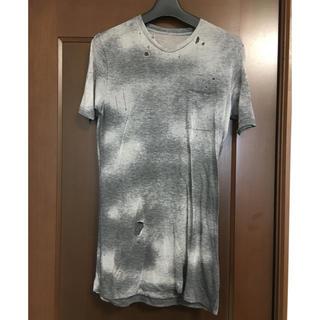セクスプリメ(S'exprimer)のセクスプリメ グランジ加工Tシャツ ダメージ加工(Tシャツ/カットソー(半袖/袖なし))