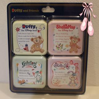 ダッフィー(ダッフィー)のダッフィー&フレンズ キャンディー缶セット(キャラクターグッズ)