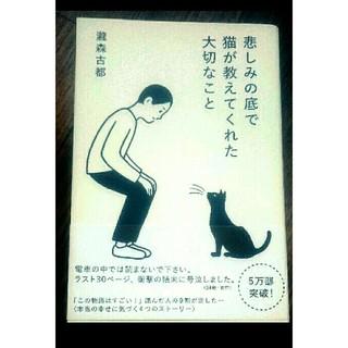 未使用 悲しみの底で猫が教えてくれた大切なこと(文学/小説)