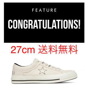 コンバース(CONVERSE)の27cm CONVERSE MIDNIGHT STUDIOS ONE STAR(スニーカー)