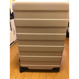 ムジルシリョウヒン(MUJI (無印良品))の送料込み‼️新品タブ付き無印スーツケース ベージュ(スーツケース/キャリーバッグ)