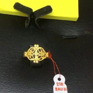 21kサウジゴールドリング(リング(指輪))