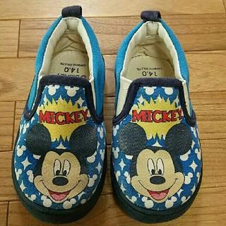 ディズニー(Disney)の子供靴  ミッキー 14(スニーカー)