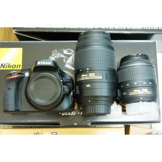 ニコン(Nikon)の★美品★ Nikon D5100 ダブルズームレンズ(デジタル一眼)