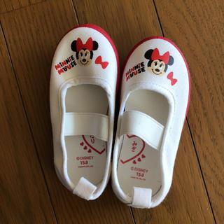 ディズニー(Disney)のミニー 上履き(スクールシューズ/上履き)