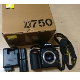 ニコン(Nikon)のNikon d750 一眼レフ カメラ(デジタル一眼)