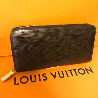 ルイヴィトン(LOUIS VUITTON)のルイヴィトン 正規品 エピ ジッピーウォレット 長財布(財布)